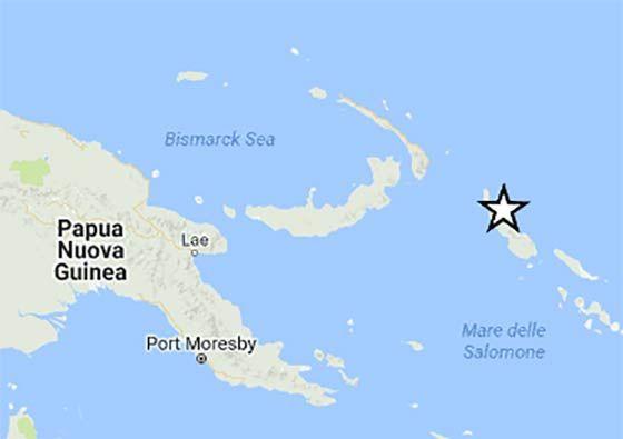 Cinquew News: Terremoto in Papua Nuova Guinea 22 gennaio 2017, s...