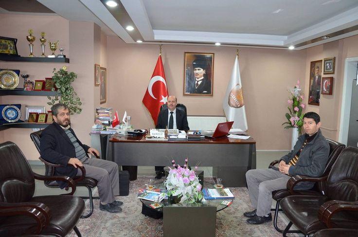 Lider Medya Başkanı Bozkurt'u ziyaret etti
