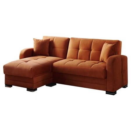 Kubo Sectional Sleeper Sofa with Hidden Storage Compartment  $799.95