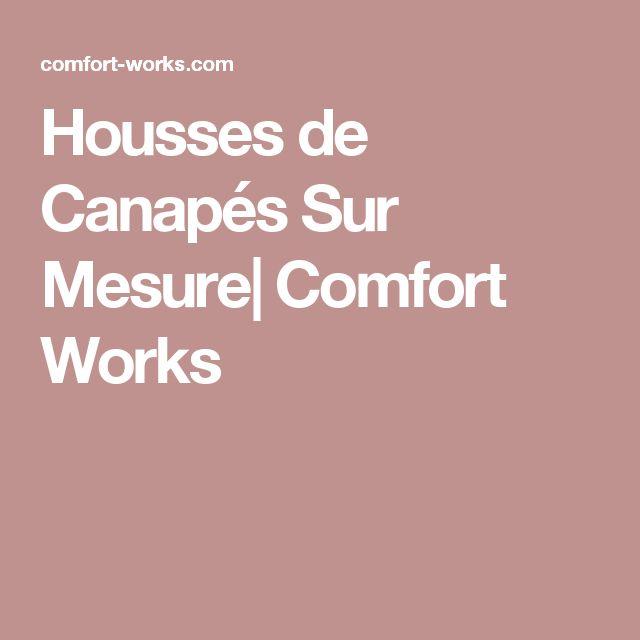 Housses de Canapés Sur Mesure| Comfort Works