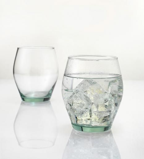 These recycled glass tumblers are perfect for an evening Pimms or Gin and Tonic as the sun sets...