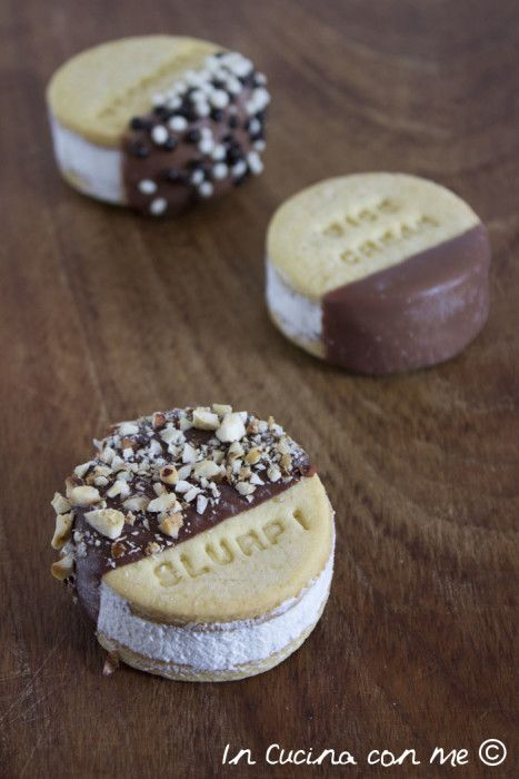 Biscotti Gelato - Ice Cream Cookies Sandwiches