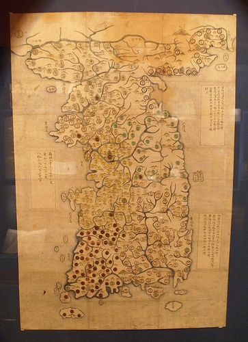Old Map of Korea
