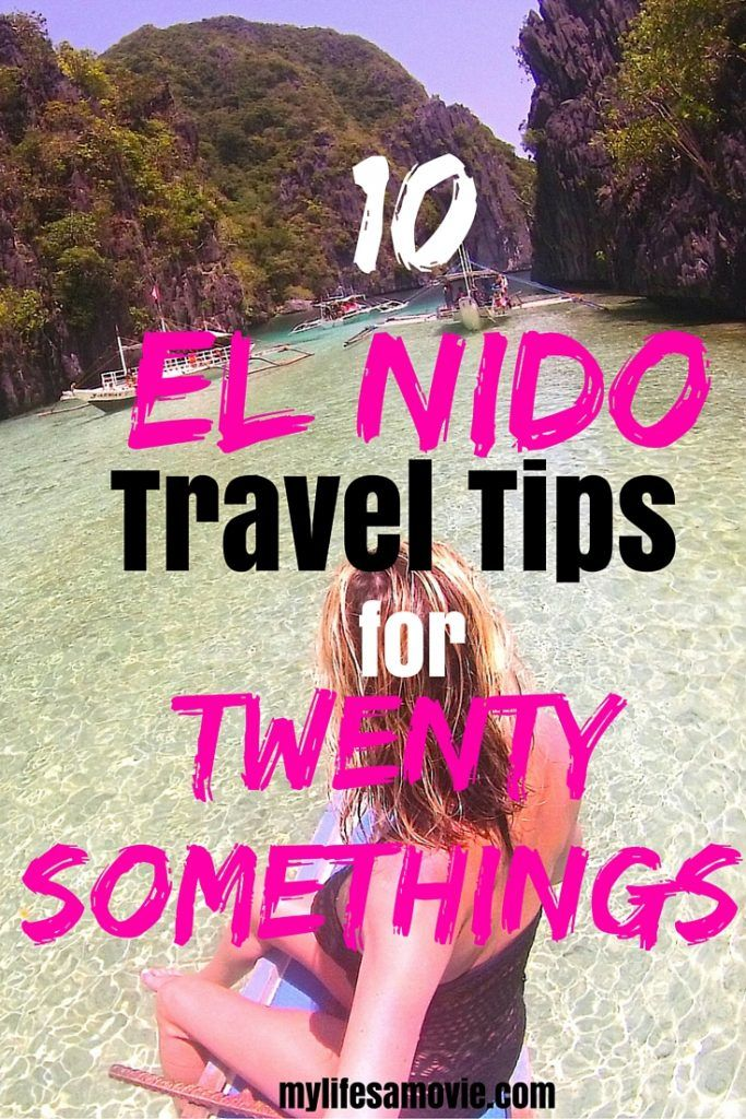 10 El Nido Travel Tips for Twenty-Somethings! El Nido is probably one of the prettiest places in the Philippines, and these travel tips will help you easily get there to see all of the awesomeness!