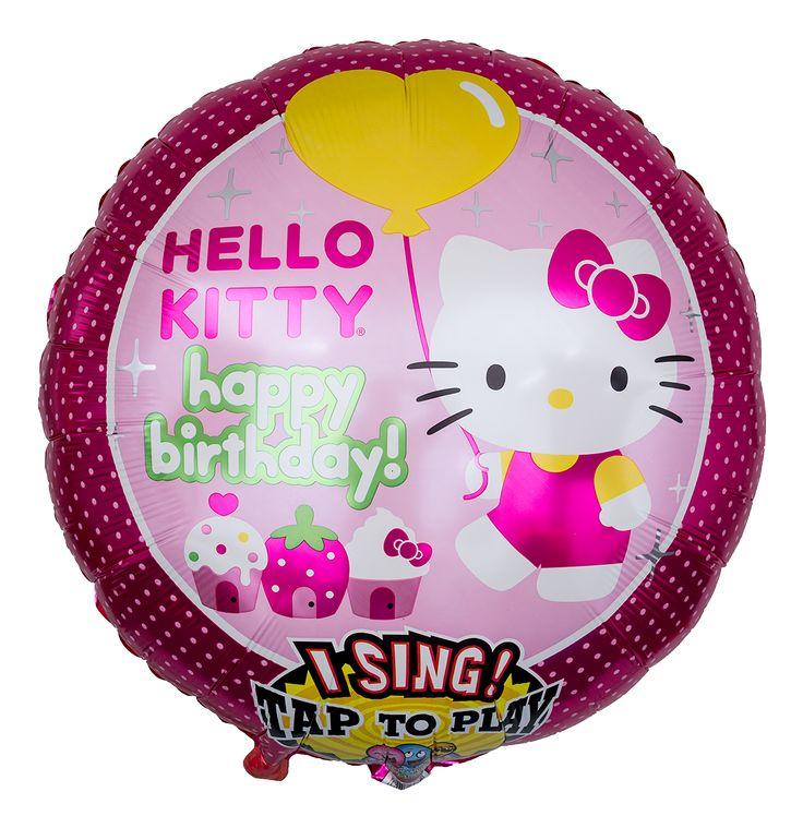 Geburtstags Hello Kitty Luftballon | Ballongruesse.de
