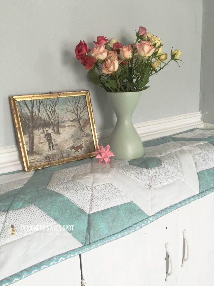 Easy Spring Table Runner|Designers Sweet Spot|www.designerssweetspot.com
