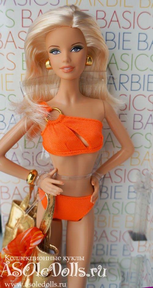 Коллекционная Барби BASIC, пляжный стиль  http://www.asoledolls.ru/shop/barbie/klassika/model_no_07_collection_003/ 2990 рублей