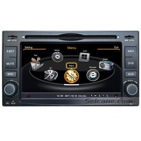 Navi System in 2 Din HD Radio Tuner DVD Player Specialized for 2009 Kia Sorento with GPS Bluetooth Auto AV 3G WiFi Support 20 Disk Virtual CD Changer-1