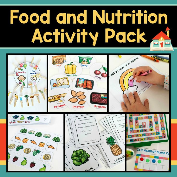 Looking for somethingeducationalfood and nutrition activities for your preschoolers? This Food and Nutrition Activity Pack includessix super fun activitiesand multiple variations of each! It's perfect for any health theme in preschool. Whether you're looking for something to supplement your preschool or homeschooling curriculum, or looking for something to add to your centers, this printable activity pack will not disappoint!