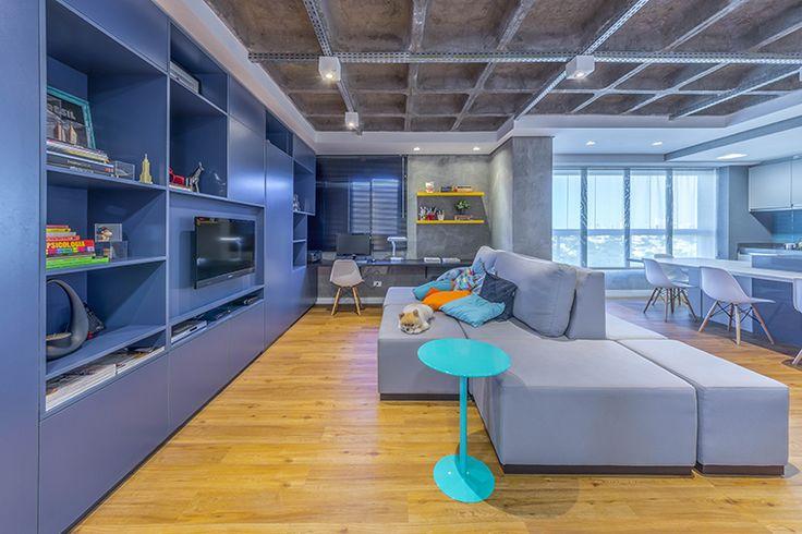 Sofa para divisão de ambientes!