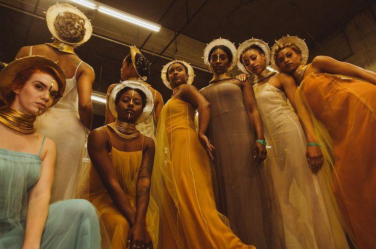 """""""Beyoncé's dancers. #GRAMMYs"""""""