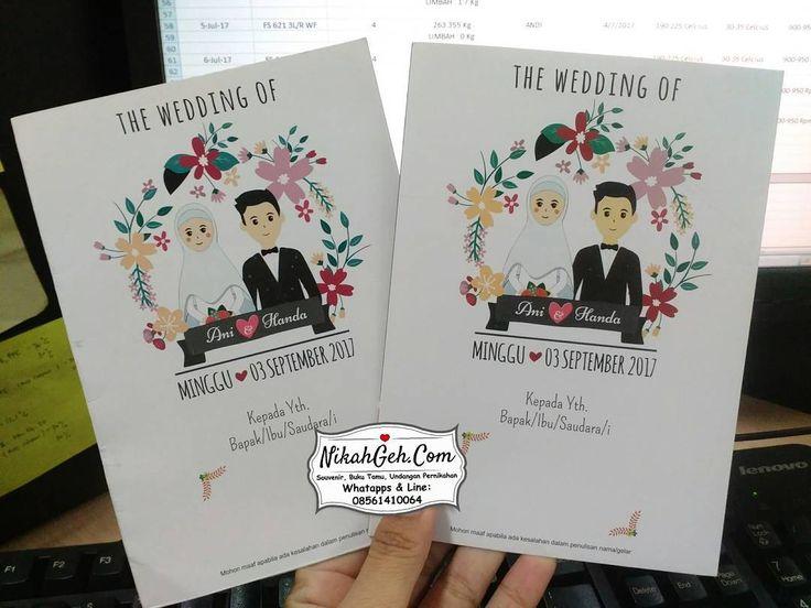 https://nikahgeh.com - Wedding Invitation Ani & Handa .  Tanya-tanya atau info lebih lanjut hubungi :  WA : 08561410064 Line : nikahgeh Desain bisa cek di  http://nikahgeh.com  #weddingserang#undanganserang #infoserang #undanganminimalis #simpleinvitation #testinikahgeh #undanganpernikahanmurah #undangancantik #pesanundangan #invitationserang#kotaserang#undangancilegon #undanganpandeglang#undanganmurah #undanganpernikahan#undanganonline #undangankreatif#undanganunik#nikah…