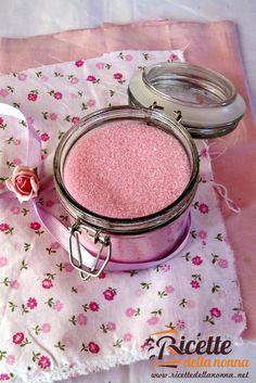 Foto di Zucchero aromatizzato alla fragola