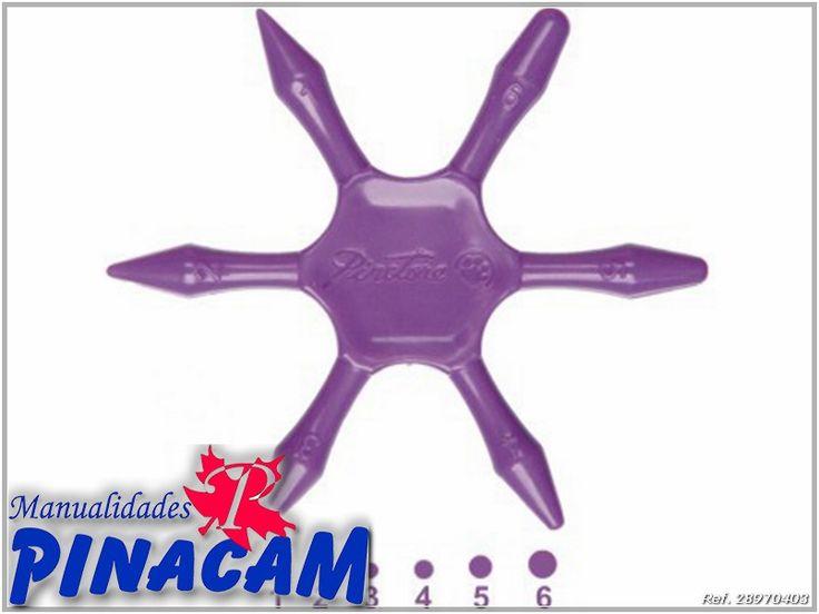 disponible en www.manualidadespinacam.com  Ideal para realizar puntos de distinto tamaño