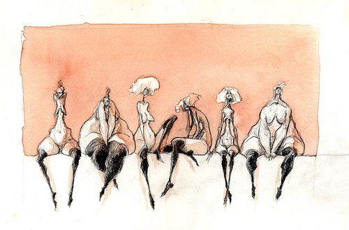 dessin 06 by Valerie Hadida, via Flickr