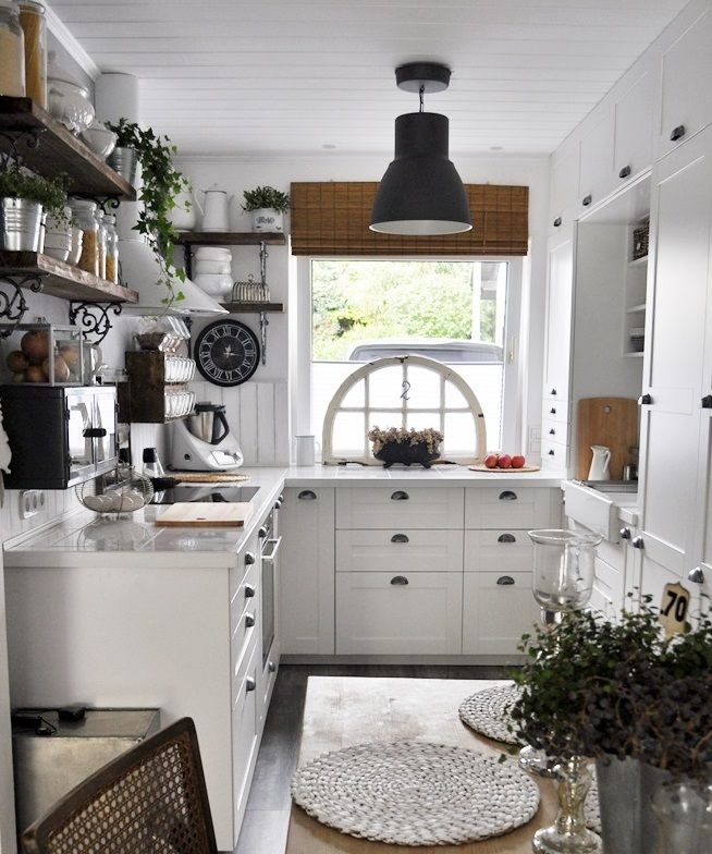 Ikea Sävedal shabby Chic   Ikea küche, Ikea kleine küche ...
