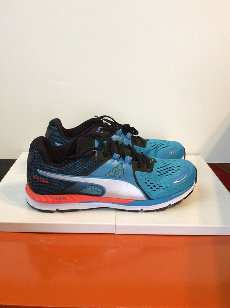 New In Box Men's PUMA Speed 600 IGNITE Running Shoes Atomic Blue Size 10  #PUMA