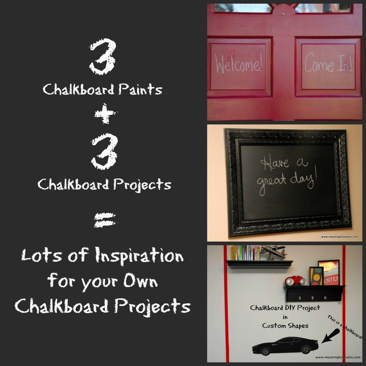 17 Best Images About Diy Chalkbroad Paint Projects And