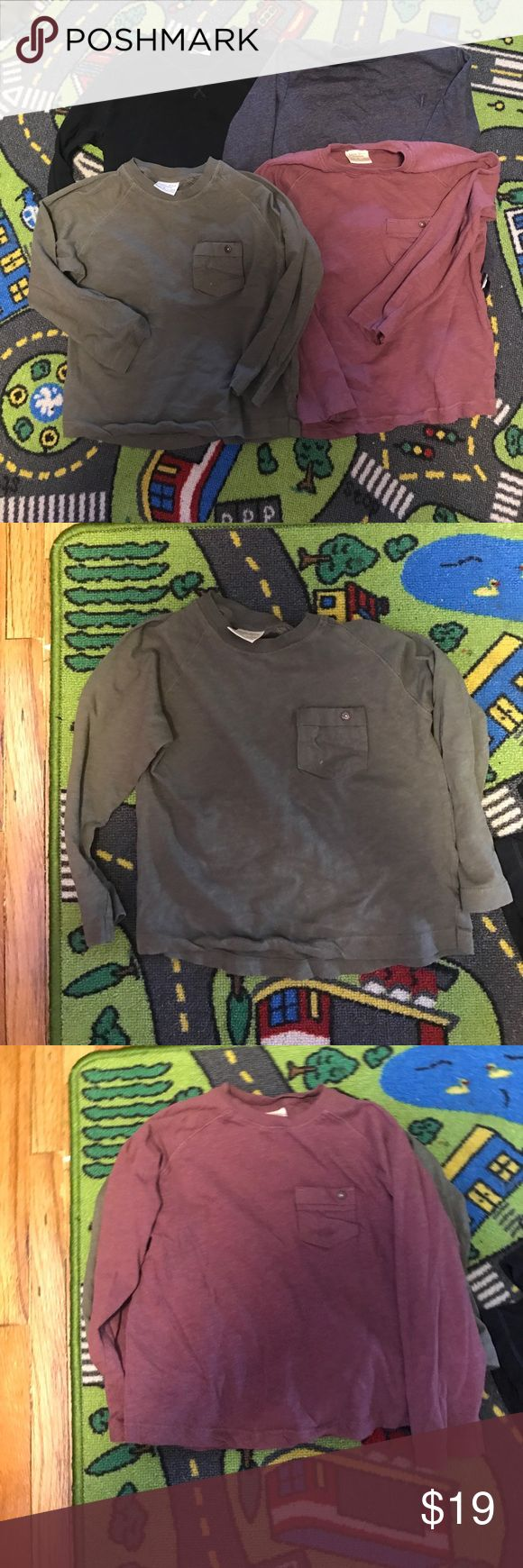 Bundle! 4 like new Zara boys tshirts Like New! 4 boys long sleeve Zara tshirts size 4 Zara Shirts & Tops Tees - Long Sleeve