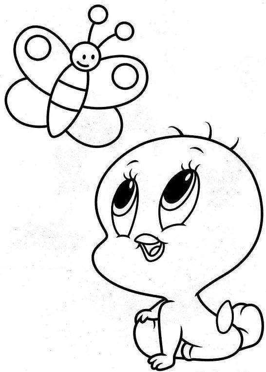 Resultado de imagen para looney toons para colorear bebes
