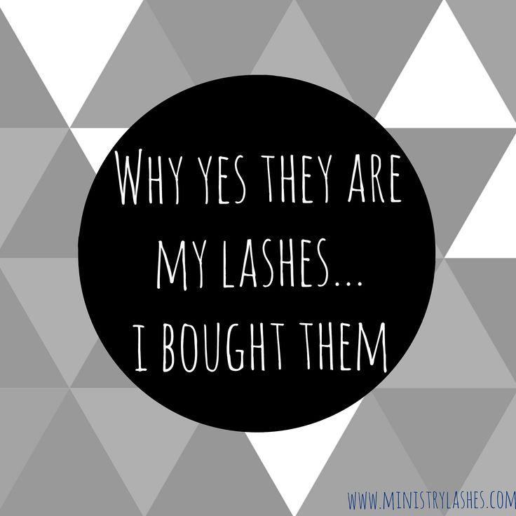 Fantastic Eyelash Quotes