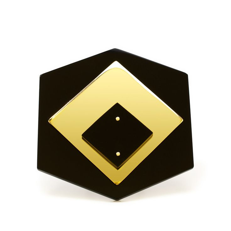 Abstract Ring - Geometric Jewellery Collection by Chloe Snow