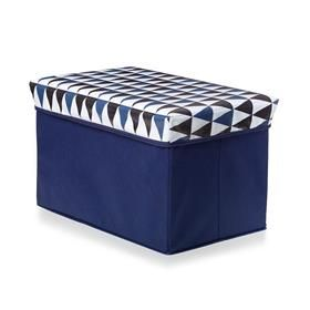 Blue Collapsible Storage Box