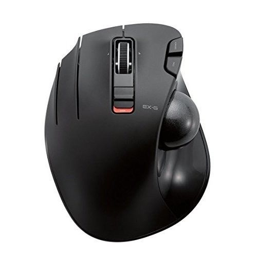 Wireless Trackball Mouse Optical Computer Laptop Mice USB Left Handed 6 Buttons #ComputerLaptopAccessories