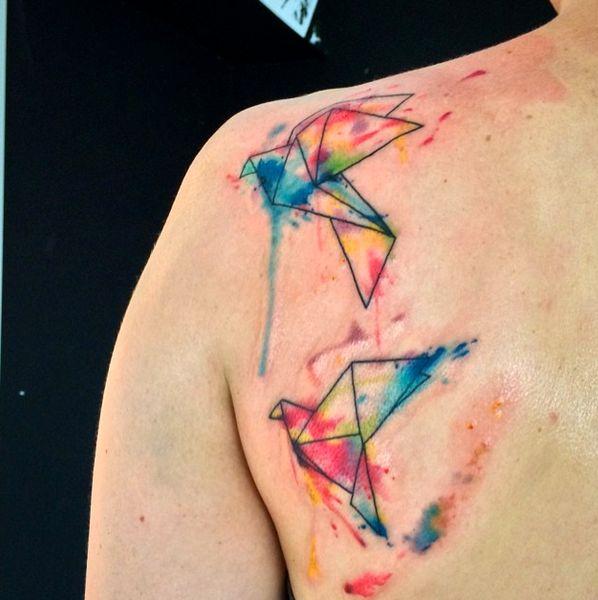 Emrah de Lausbub-Tattoo-Ink-InkObserver-Watercolors-Abstract-Heilbronn-Germany 9