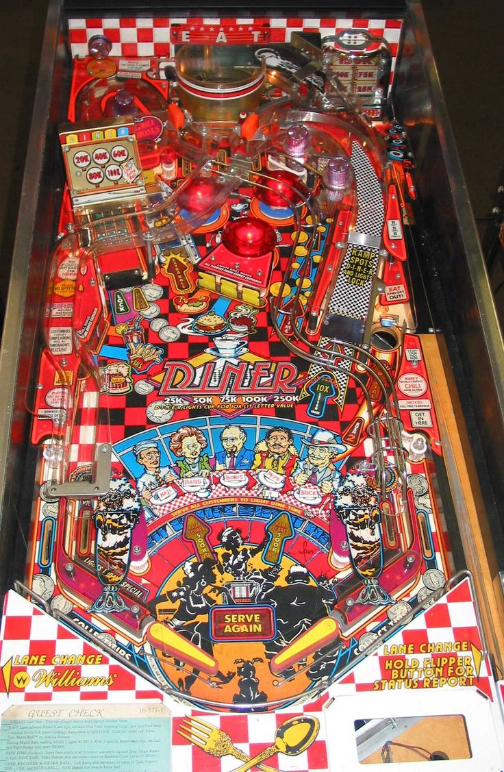 Vintage carnival ride www imgarcade com online image arcade - Pinball Machines Diner Pinball Machine