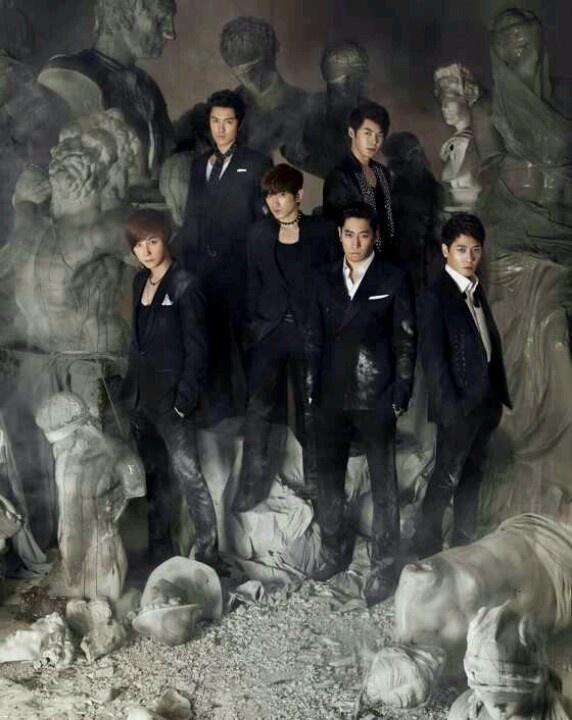 Six handsome men