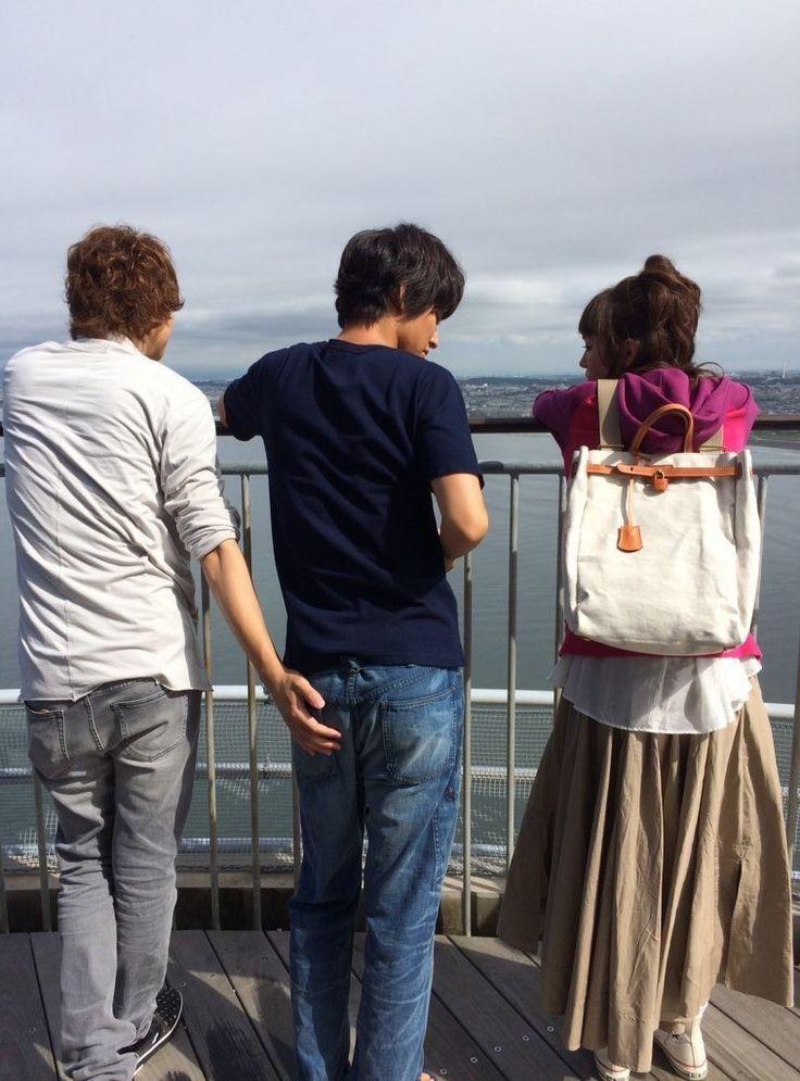 "[Long preview, 07/04/16] https://www.youtube.com/watch?v=ui-kuuwyT9E Mirei Kiritani x Kento Yamazaki x Shohei Miura x Shuhei Nomura, J drama ""Sukina hito ga iru koto (A girl & 3 sweethearts)"", Jul/11/2016"