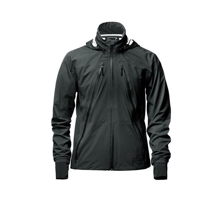 men's empire bicycle jacket grey front