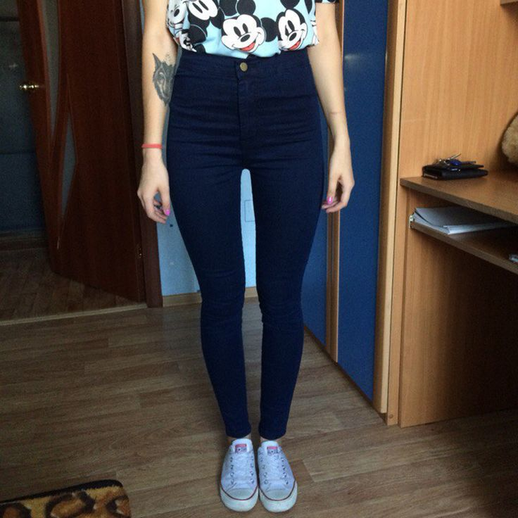 US $12.86---Slim High Waist Jeans Black 2017 Jeans Woman Elastic Skinny Women's Jeans Female With High Waist Denim Jeans For Women Femme Up