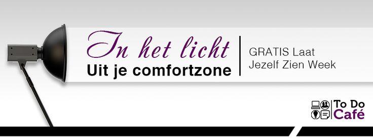 Gratis Laat Jezelf Zien Week  Uit je comfortzone, in het licht!   GRATIS Laat Jezelf Zien Week voor vrouwelijke trainers en coaches, inclusief vijf waardevolle webinars waarmee je jezelf online zichtbaar maakt.  Tijd voor ACTIE!  In deze week ga je echt aan de slag! En alle webinars kun je op jouw moment terugkijken, dus kun je niet om 12.00u, meld je dan toch aan.  http://www.todocafe.nl/gratis-laat-zien-week/