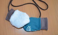 Warme Baby-Handschuhe nähen