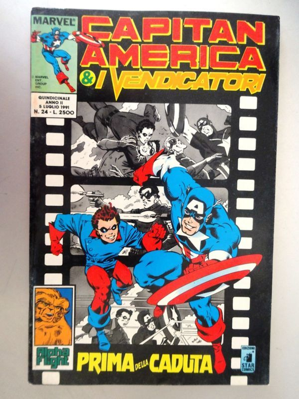 CAPITAN AMERICA E I VENDICATORI   24 - ED. STAR COMICS -  OTTIMO
