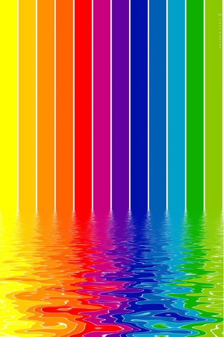 1371 best images about colour spectrum rainbow vibrant on for Bright vibrant colors