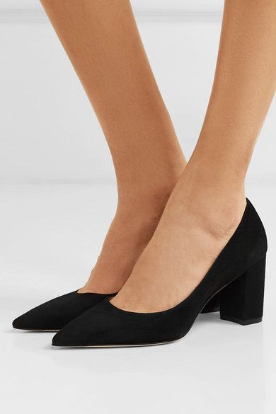 513e6218a4c Stuart Weitzman | Laney suede pumps | NET-A-PORTER.COM | Shoes in ...