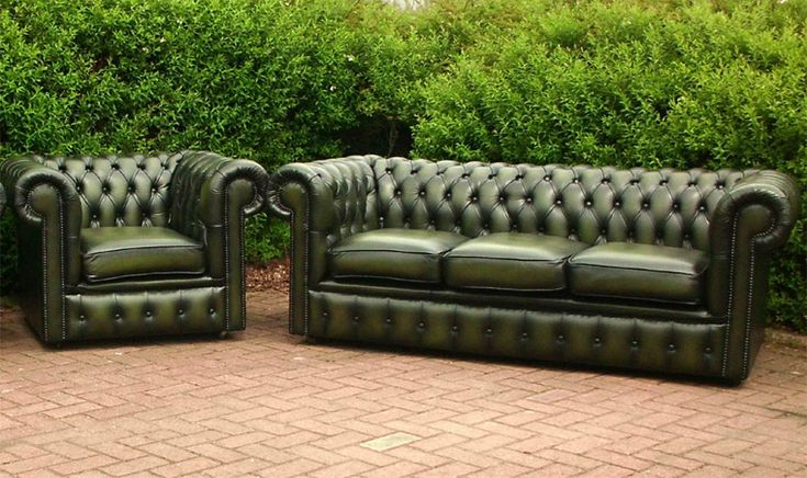 Style Of Green Leather Chesterfield Sofa Fresh - Cool Green Chesterfield sofa For Your Plan