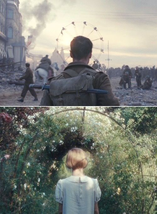 Atonement  (cinematography, creative direction is absolutely genius)