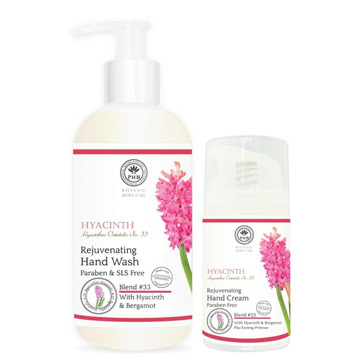 Rejuvenating Hand Care Duo with Hyacinth and Bergamot