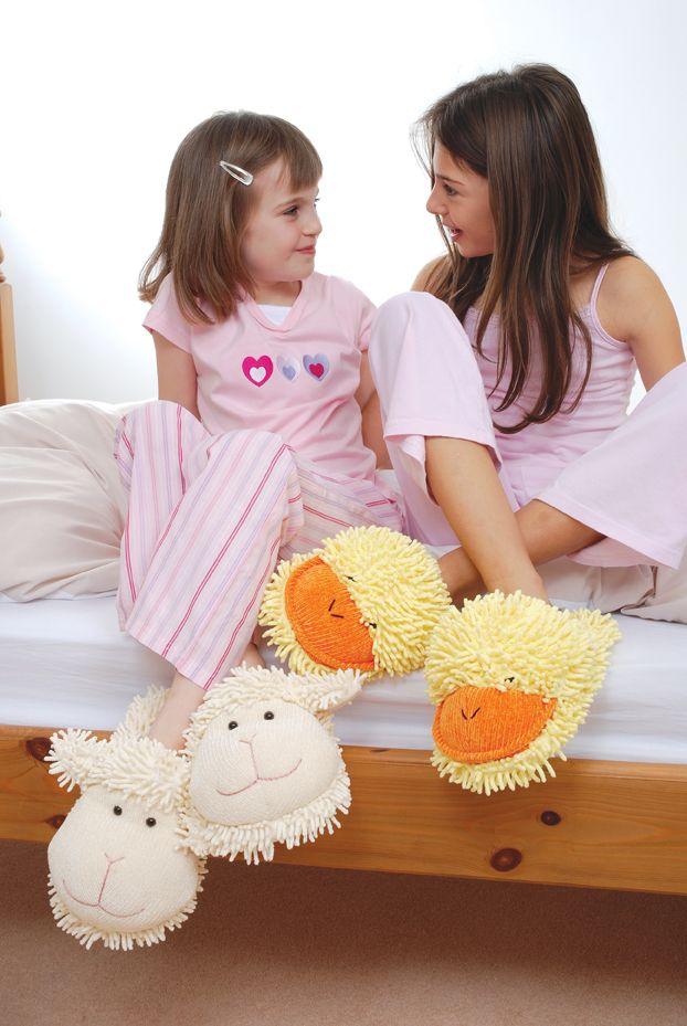 #pantofle dziecięce Owieczki i Kaczuszki, Aroma Home