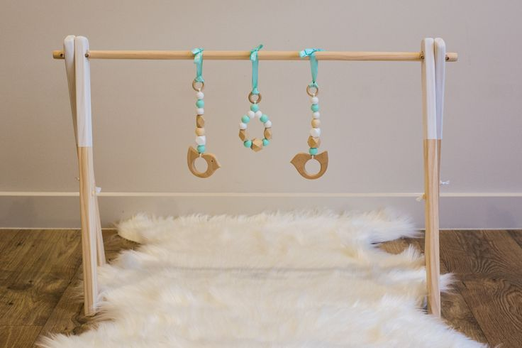 Gorgeous Unisex wooden play gym, only 2 left in stock!