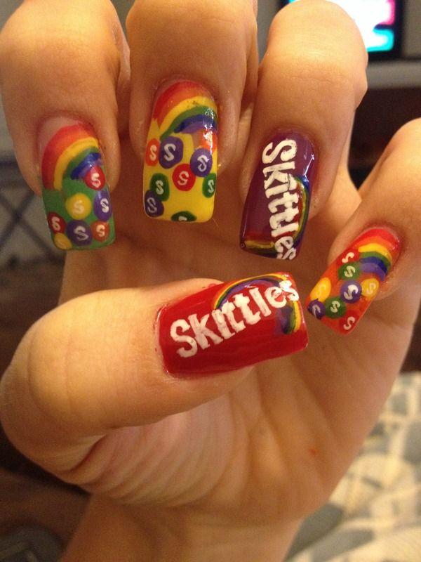 хочу сделать ногти скитлс фото многие производители