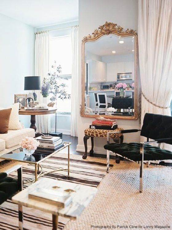 Chicago river north apartment designed by nate berkus interiors published in lonny july