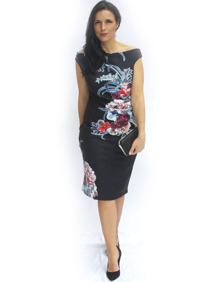 Ninian Off The Shoulder Dress - Dressxox