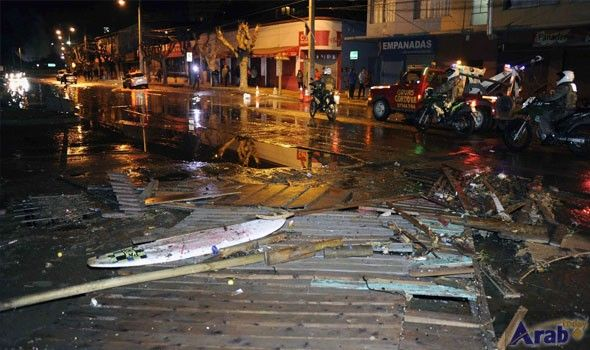 Chile rattled by more than a dozen off-shore earthquakes