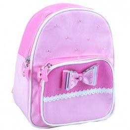 Bow Beautiful Mini Backpack ~ Pale Pink by Pink Poppy