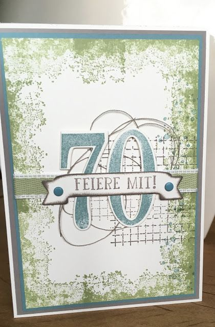 Einladungskarten zum 70. Geburtstag